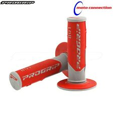 PRO GRIP 801 RED DUAL COMPOUND GEL GRIPS HONDA CR125 CR250 1996