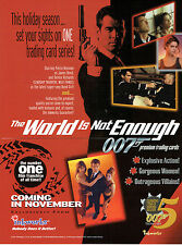 JAMES BOND THE WORLD IS NOT ENOUGH SELL SHEET