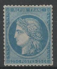 "FRANCE STAMP TIMBRE N° 60 A  "" CERES 25c  BLEU TYPE I "" NEUF x TTB   M764"