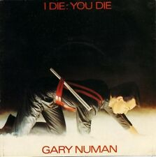 "GARY NUMAN i die you die/down in the park BEG 46 uk beggars banquet 7"" PS EX/VG+"