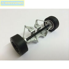 W9586 Scalextric Spare Front Axle Assembly & Wheels for Eagle Weslake