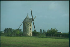 281052 French Windmill In The Loire Valley Near Angers A4 Photo Print