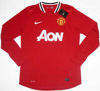 11/12 Manchester United Player Issue Football Shirt Soccer Jersey Top Man Utd