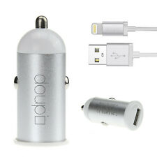 2in1 Set chargement USB Voiture Chargeur Câble Adaptateur iPhone 6 6S 5 5C 5S SE