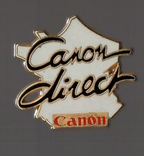 pin's Canon Direct (France) zamac signé Decat