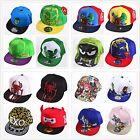 Kids Girls Snapback Avengers Sun School Sports Baseball Cap Hat Costume Play