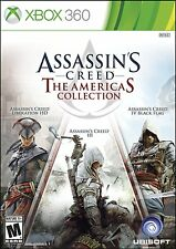 Assassin's Creed: The Americas Collection [Xbox 360, Liberation, Black Flag] NEW