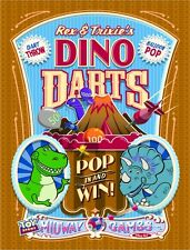 "MIDWAY MANIA - REX AND TRIXIE'S DINO DARTS -  DISNEY POSTER 8.5"" x 11"""