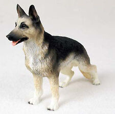 German Shepherd Hand Painted Collectible Dog Figurine Statue