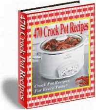 Crock Pot 470 Recipes eBook Check out our many bounses that we offer