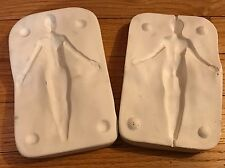 """Pearl - Girl Mermaid Press Mold by Patricia Rose makes 6""""-7"""" polymer clay doll"""