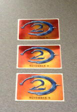 Halo 2 Sticker Bundle (3 Stickers)  November 9, 2004