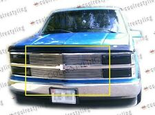 For 94 ~ 99 Chevy c/k pickup blazer tahoe suburban billet grille inserts