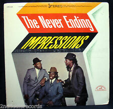 THE IMPRESSIONS-The Never Ending Impressions-Rare Sealed Album-ABCS 468 stereo