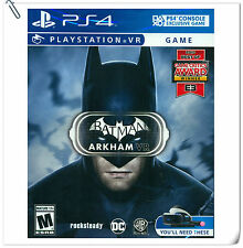 PSVR Batman: ArkhamVR SONY PLAYSTATION Action Games Warner Home Video