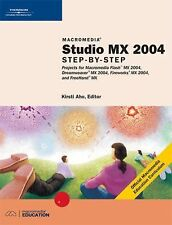 Macromedia Studio MX 2004: Step-By-Step Projects for Flash MX 2004, Dreamweaver