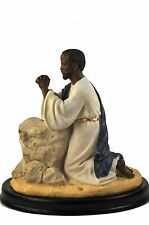 Jesus Praying at Gethsemane Statue: African American (25361) NEW 6.5 Inches Tall