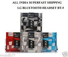 LG BT-5 Bluetooth Stereo Headset High Quality Sound Earphone Mic Remote Control