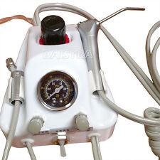 Dental Lab Portable Air Turbine Unit & Syring for Compressor Handpiece B2