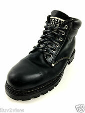 Roots Canada Tuff Ankle Boot Black Size 10 US.