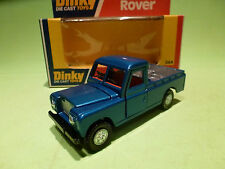 DINKY TOYS  344 LAND ROVER - BLUE - RARE SELTEN - GOOD CONDITION IN BOX