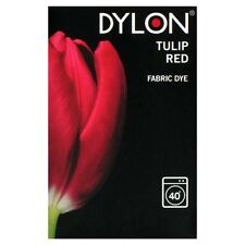 Dylon machine fabric dye – 200g – Tulip Red - FREE P&P