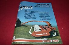 Hesston 1014+2 Hydro Swing Mower Conditioner Dealer's Brochure DCPA2