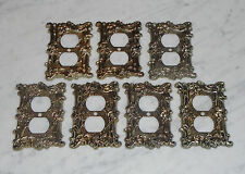 7 Vintage American Tack &Hardware Gothic Rose Outlet Switch Plate Covers