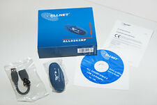 Allnet ALL0263RP, Wireless LAN USB Adapter, 54Mbit, WPA WPA2, incl. Software neu