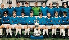 EVERTON FOOTBALL TEAM PHOTO 1969-70 SEASON