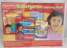 Fisher Price Kindergarten Learning Pack, Complete Set, NEW