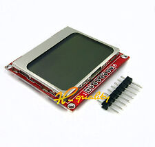 84x84 LCD Module White backlight adapter PCB for Nokia 5110