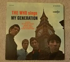 the who sings my generation - 1st Decca press, VG++