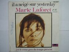 MARIE LAFORET 45 TOURS FRANCE IL A NEIGE BEATLES+
