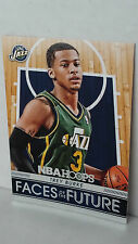 2014-15 Hoops Faces Of The Future #10 TREY BURKE (Jazz)
