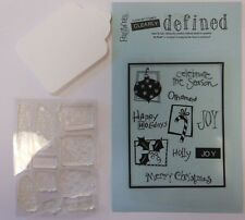 Merry Christmas Clear Art Stamps