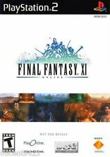 **Online RPG** Final Fantasy XI (PlayStation PS2) Adventures Across 100 Areas!