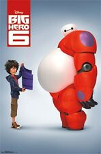 Disney Big Hero 6 Baymax Movie Poster Print, 22x34