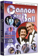 CANNON AND BALL The Complete Sixth Series 6. 2 discs. New sealed DVD.