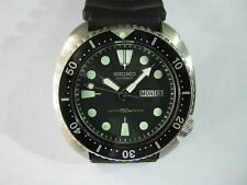 VINTAGE SEIKO 6309-7040 AUTOMATIC 150M DAY AND DATE MEN'S DIVERS WATCH
