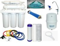 RO Water Filter Reverse Osmosis System 5 Stages Water Filtration