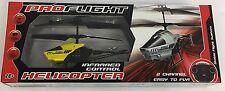 SUPER Pro Flight Infra Rosso RC Elicottero-remote control-Giallo