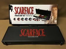 Scarface Tony Montana 500 Chip Poker Set & Locking Case w/ FREE Shipping