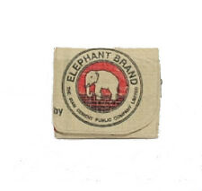 Elephant Brand Recycled Ladies 3 fold Wallet with inside zip from Cement Bags