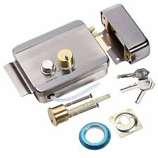 Fail Secure Stainless Steel Anti-theft Electric Control Release Rim Door Lock'