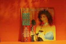 ROSE MARIE - SENTIMENTALLY YOURS - TELSTAR UK 1987 VG+ VG LP VINYL RECORD -i