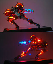 NINTENDO METROID PRIME LED STATUE PHAZON SUIT LIMITED RAR LIGHTS LED ONE TIME !!