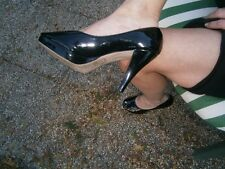 "Pumps, gr.40, Marke ""She"", lack, schwarz, Stilettos ...TOP"