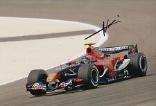 Neel Jani Hand Signed 12x8 Photo Scuderia Toro Rosso F1 1.