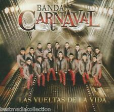 Banda Carnaval CD NEW Las Vueltas De La Vida ALBUM Con 10 Canciones SEALED